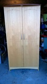2 Door quality modern wardrobe in great condition