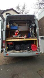 Converted Race Truck Van