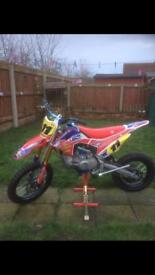 Wpb 160 race(2017)(crf110 style)pit bike,used once!