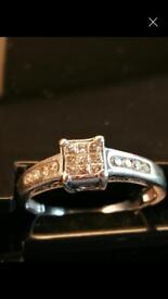 18k White Gold Eternity Ring