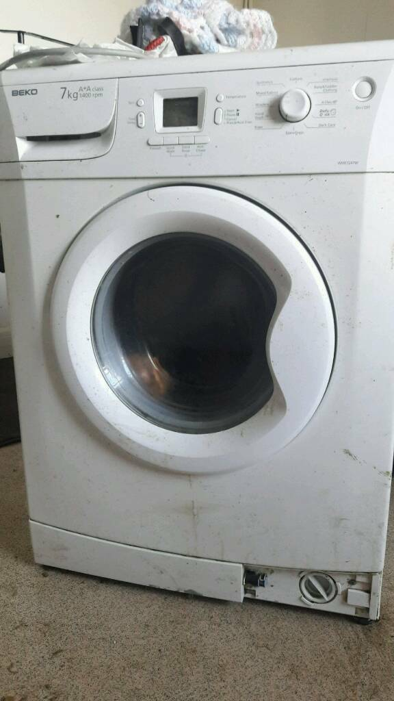 Beko washing machine spare or repairs