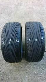 Uniroyal Rainsport 2 tyres 205/40/17 W XL (x2)