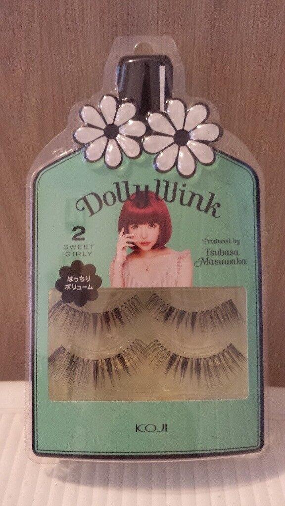 Kofi Dolly Wink 2 Sweet Girly False Eyelashes 2 Pairs Glue