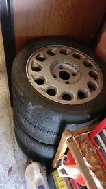 Nissan 200sx - 4 * S13 standard rims - Drift wheels / Alloys