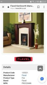 Flavel Kenilworth black trim gas fire *brand new still in box* £200