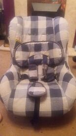 Car seat birth to 4yrs . Was used as a second one at grandparents