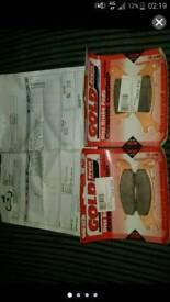 Honda CBR 125 Gold Fren Brake Pads