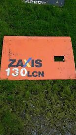 Hitachi zaxis 130 excavator panels , grab rails