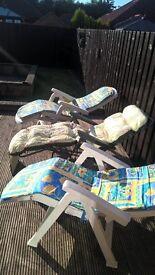 garden chairs recliners