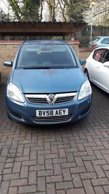Vauxhall Zafira Exclusive 1.6 (Low Mileage)