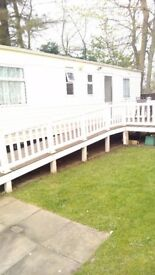 Haggerston castle caravan for hire half term October break ( family s only ).