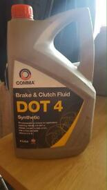 Brake and clutch fluid