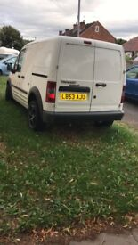 Transit connect van is very good condition, alloy wheels, mot till next year