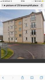 1 bedroom flat to let in Broomyhill place Linlithgow.
