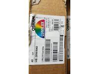 Box of 40 Osram 28 Watt Lumilux T5 High Efficiency Fluorescent Tube Lamps 1149mm