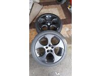 18inch golf alloy wheels
