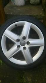 Audi 17' alloys@ tyres 225/45