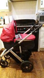 uppababy vista pram/buggy and car seat **new price**