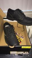 New Men's Black CAT Oversee Work Boot size 11