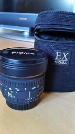 SIGMA - New fisheye lens for a Nikon