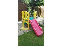 Little Tykes Hide and Slide - Used but in good condition.