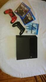 Ps4 console games an controlers