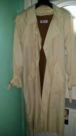 Yves saint laurent trench coat mac mens coat