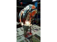 GAMER LAMP CYBER TOOTH TIGER ORIGINAL ARTWORK