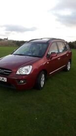 Kia Carens 2008 full years mot