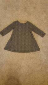 Next baby girl dress 9-12months