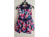 Multi-coloured M&S Dress - Aged 2-3