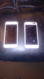 2x i phone 6 for spares