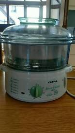 TEFAL STEAM COOKER AS NEW!