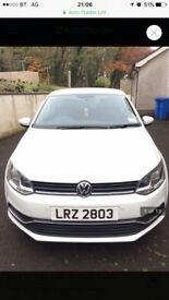 Volkswagon Polo July 2016 1.0 11969 miles 1 owner