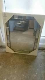 Modern Square Mirror BNIB
