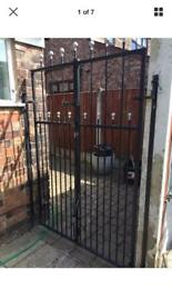 set of very good quality galvanised steel gates ready to fit £120