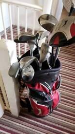 Slazenger left handed clubs