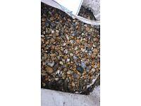 Garden decoration pebbles