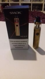 smok vape pen 22 gold