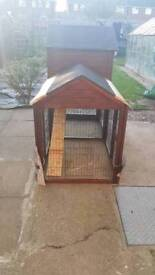 large 6ft hutch combi run as new