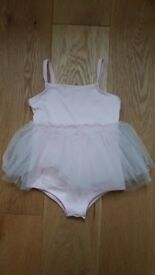 NEW M&S Ballerina Leotard Tutu Age 2-3