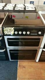 HOTPOINT 60CM ELECTRIC DOUBLE OVEN COOKER