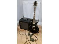 Westfield E4500 Les Paul & Roland Cube 30 Amp