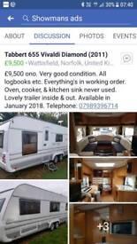 Tabbert 655 vivaldi diamond 2011