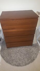 Ikea Malm Chest Drawers