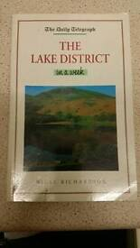 Lake District in a week in colour guide book