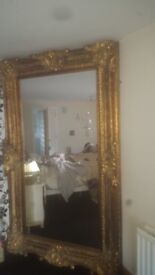 Lovely Gold mirror for sale