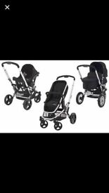 Mothercare Xpedior Travel System in Black