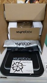 Kyrobak for back pain relief comes with box instructions as new