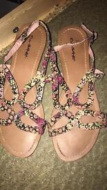 Heels and sandals
